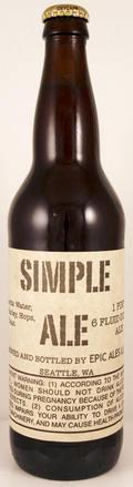 Epic Ales Simple Ale