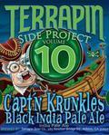 Terrapin Side Project Capt'n Krunkles Black IPA