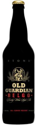 Stone Old Guardian Belgo-Barley Wine