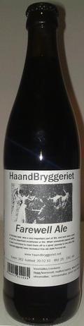 HaandBryggeriet Farewell Ale