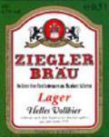 Ziegler Bräu Lager Hell