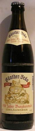 Günther-Bräu Jubiläumsbier