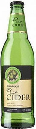 Sainsburys Pear Cider