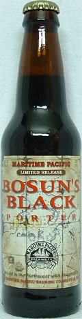Maritime Pacific Bosun's Black Porter