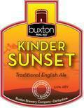 Buxton Kinder Sunset