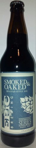 Epic Smoked & Oaked Belgian-Style Ale