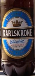 Karlskrone Weissbier Alkoholfrei