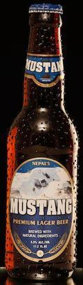 Nepal's Mustang Premium Lager Beer
