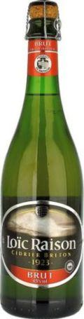 Loïc Raison Cidre Bouché Breton Brut
