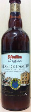 St-Feuillien & Green Flash / Bière De L'Amitié