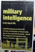 Brew Wharf Military Intelligence