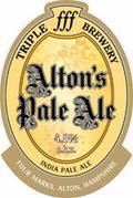 Triple fff Alton's Pale Ale