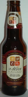 Les Bières de la Nouvelle-France La Délice d'Automne