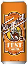 Narragansett Fest Lager