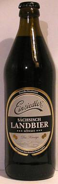Einsiedler Sächsisch Landbier Schwarz
