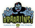 Spring House Braaaiins! Pumpkn Ale for Zombies