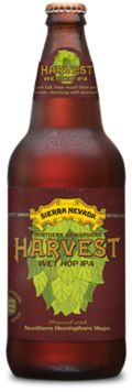 Sierra Nevada Harvest Wet Hop IPA - Northern Hemisphere