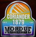 Mordue Coriander 1879