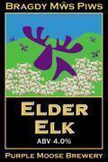 Purple Moose Elder Elk