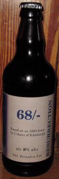 Luckie Ales Edinburgh 68/-
