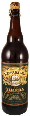 Sierra Nevada 30th Anniversary Our Brewers Reserve Grand Cru