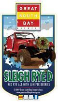 Great South Bay Sleigh Ryed