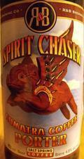 R & B Spirit Chaser Sumatra Coffee Porter