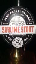 Fyne Ales Sublime Stout