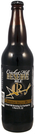 Cricket Hill Brewmaster's Reserve American Brown Ale