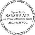 New Belgium Lips of Faith - Sarah's Ale