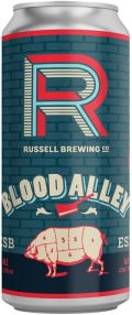 Russell Blood Alley Bitter