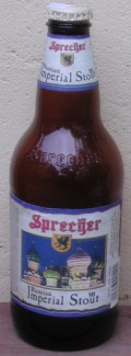 Sprecher Russian Imperial Stout