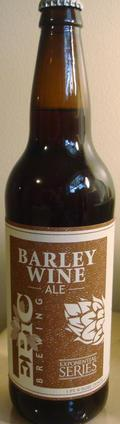 Epic Barley Wine