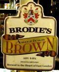 Brodies American Brown