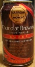 Sapporo X Royce Chocolat Brewery Sweet