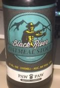 Paw Paw Black River Oatmeal Stout