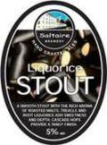 Saltaire Liquorice Stout