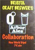 Bristol Craft Brewers Collaboration New World Tripel