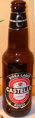 Castello Birra Lager Rossa