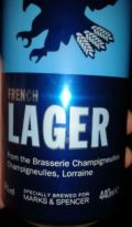 Marks & Spencer French Lager