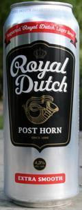 Royal Dutch Post Horn Extra Smooth 4.3%