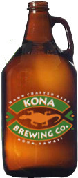 Kona Ginger Duke's Blonde Ale with Lemongrass