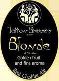 Tatton Blonde