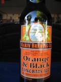 Marin Orange & Black Congrats Ale!