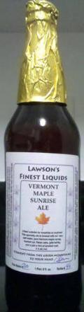 Lawson's Finest Vermont Maple Sunrise Ale