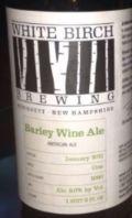 White Birch Barley Wine Ale