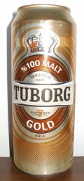 Tuborg Gold 100% Malt