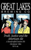 Great Lakes Truth, Justice And The American Ale