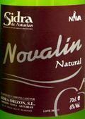 Novalin Sidra Natural