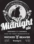 Wicked Beaver Midnight Ale